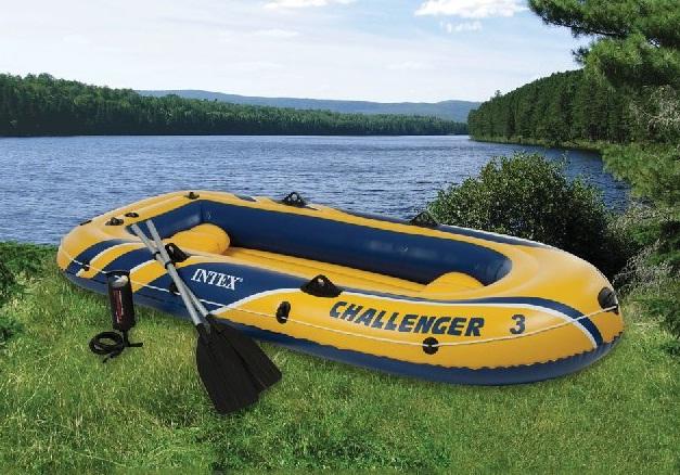 весла для надувной 3 местной лодки и насос