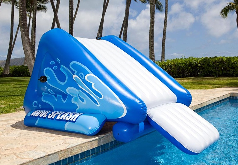 Tobog n inflable rampa para piscina ni os intex 58851 for Tobogan piscina ninos