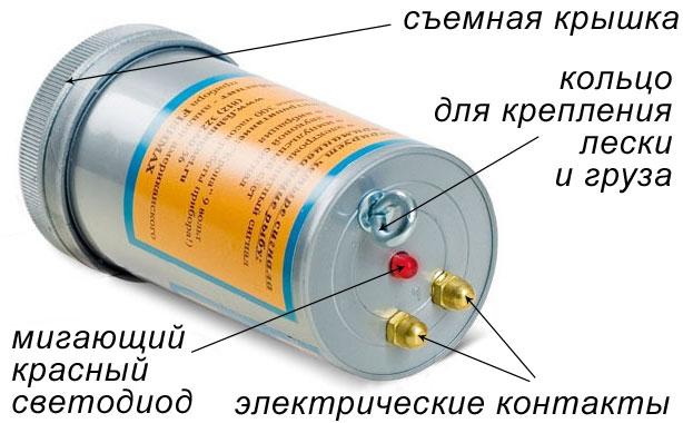 электросхема приманки супер клев
